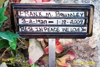BRUMLEY, FRANK MONROE - Gila County, Arizona | FRANK MONROE BRUMLEY - Arizona Gravestone Photos