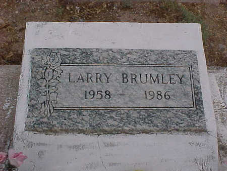 BRUMLEY, LARRY - Gila County, Arizona | LARRY BRUMLEY - Arizona Gravestone Photos