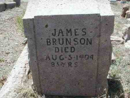 BRUNSON, JAMES - Gila County, Arizona | JAMES BRUNSON - Arizona Gravestone Photos