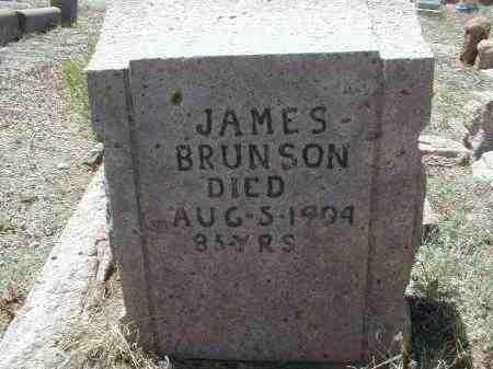 BRUNSON, JAMES - Gila County, Arizona | JAMES BRUNSON - Arizona Gravestone Photos