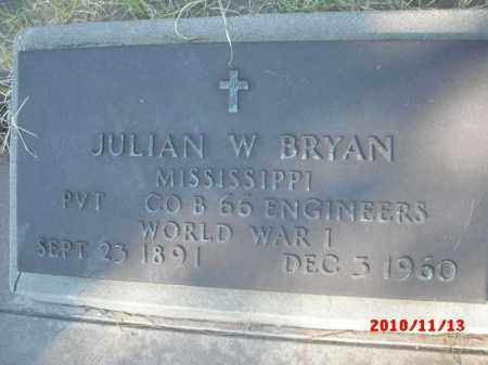 BRYAN, JULIAN W. - Gila County, Arizona   JULIAN W. BRYAN - Arizona Gravestone Photos