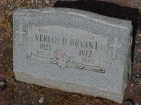 BRYANT, VERLIN D. - Gila County, Arizona | VERLIN D. BRYANT - Arizona Gravestone Photos