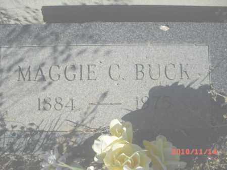 BUCK, MAGGIE C. - Gila County, Arizona | MAGGIE C. BUCK - Arizona Gravestone Photos