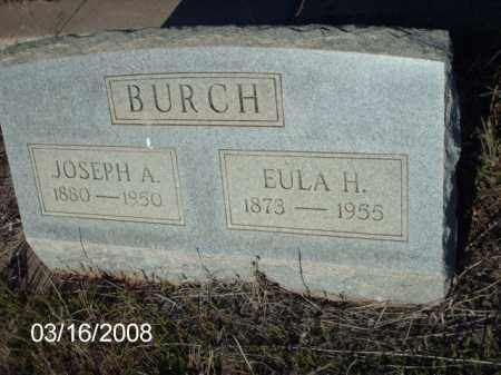 BURCH, JOSEPH - Gila County, Arizona | JOSEPH BURCH - Arizona Gravestone Photos