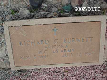 BURNETT, RICHARD - Gila County, Arizona | RICHARD BURNETT - Arizona Gravestone Photos