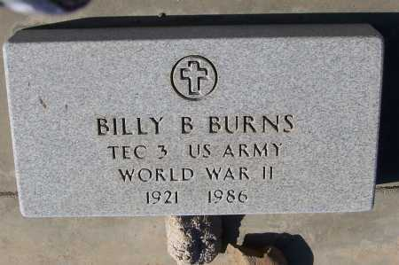 BURNS, BILLY B. - Gila County, Arizona | BILLY B. BURNS - Arizona Gravestone Photos