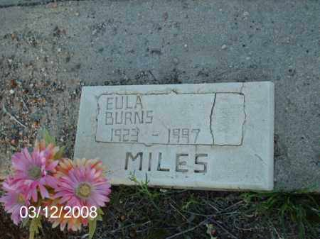 BURNS, EULA - Gila County, Arizona | EULA BURNS - Arizona Gravestone Photos