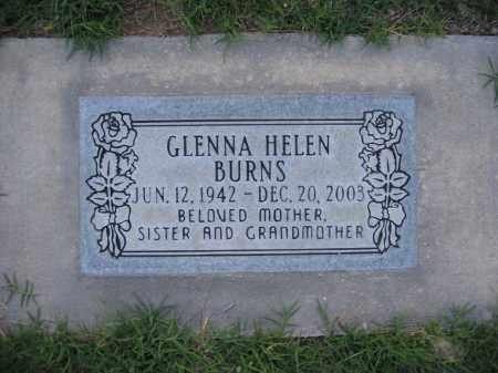 BURNS, GLENNA - Gila County, Arizona   GLENNA BURNS - Arizona Gravestone Photos