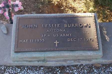 BURROWS, JOHN LESLIE - Gila County, Arizona | JOHN LESLIE BURROWS - Arizona Gravestone Photos