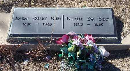 BURT, MYRTLE EVA - Gila County, Arizona | MYRTLE EVA BURT - Arizona Gravestone Photos