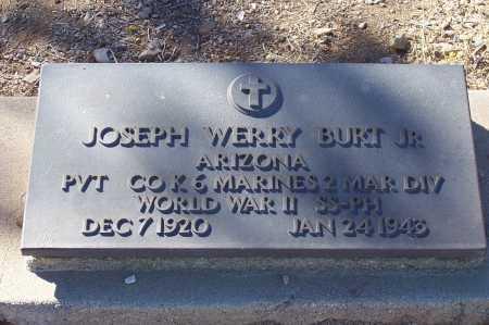 BURT, JOSEPH WERRY, JR. - Gila County, Arizona | JOSEPH WERRY, JR. BURT - Arizona Gravestone Photos