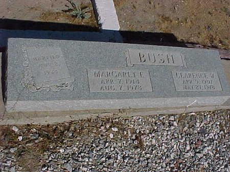 BUSH, MARGARET  E. - Gila County, Arizona | MARGARET  E. BUSH - Arizona Gravestone Photos