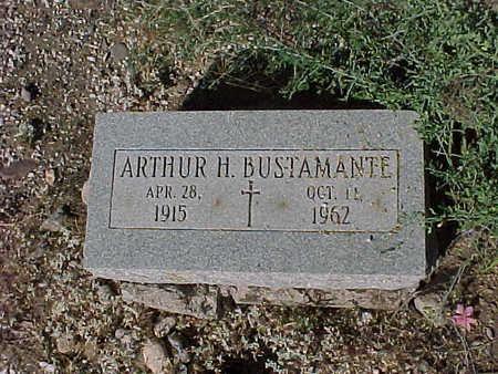 BUSTAMANTE, ARTHUR  H. - Gila County, Arizona   ARTHUR  H. BUSTAMANTE - Arizona Gravestone Photos