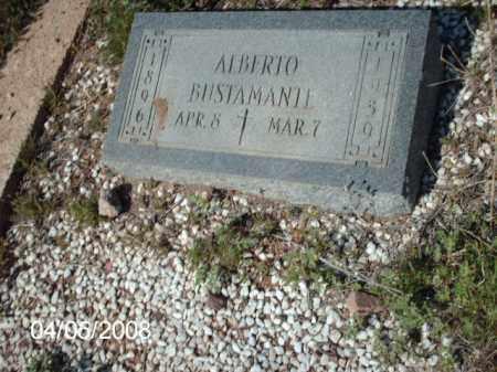 BUSTAMANTE, ALBERTO - Gila County, Arizona | ALBERTO BUSTAMANTE - Arizona Gravestone Photos