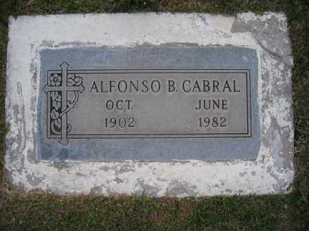 CABRAL, ALFONSO - Gila County, Arizona | ALFONSO CABRAL - Arizona Gravestone Photos