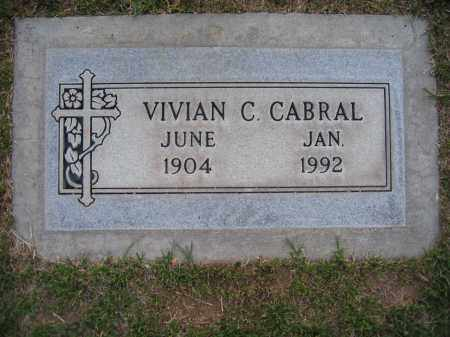 CABRAL, VIVIAN - Gila County, Arizona | VIVIAN CABRAL - Arizona Gravestone Photos