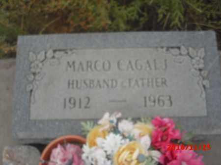 CAGALJ, MARCO - Gila County, Arizona   MARCO CAGALJ - Arizona Gravestone Photos