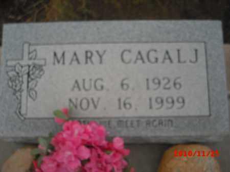 CAGALJ, MARY - Gila County, Arizona | MARY CAGALJ - Arizona Gravestone Photos