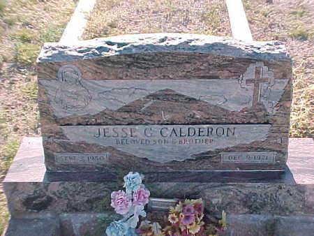CALDERON, JESSE  G. - Gila County, Arizona | JESSE  G. CALDERON - Arizona Gravestone Photos
