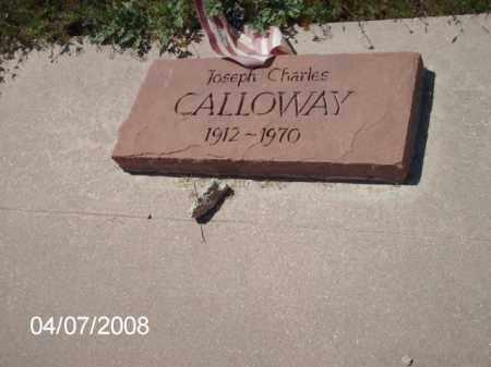 CALLOWAY, JOSEPH CHARLES - Gila County, Arizona | JOSEPH CHARLES CALLOWAY - Arizona Gravestone Photos