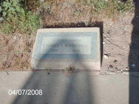 CAMBELL, CHARLES - Gila County, Arizona | CHARLES CAMBELL - Arizona Gravestone Photos