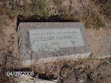 CAMBELL, LILLIAN - Gila County, Arizona | LILLIAN CAMBELL - Arizona Gravestone Photos
