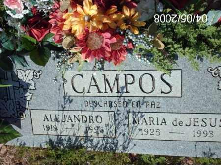CAMPOS, ALEJANDRO - Gila County, Arizona | ALEJANDRO CAMPOS - Arizona Gravestone Photos