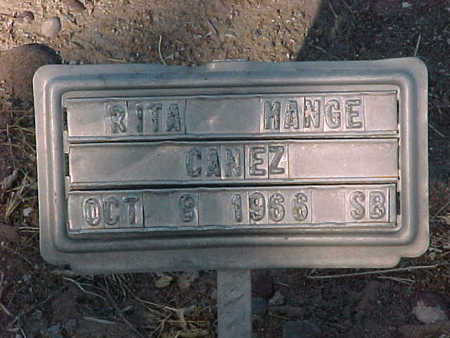 CANEZ, RITA  MANGE - Gila County, Arizona   RITA  MANGE CANEZ - Arizona Gravestone Photos