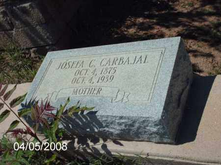 CARBAJAL, JOSEFA C. - Gila County, Arizona | JOSEFA C. CARBAJAL - Arizona Gravestone Photos