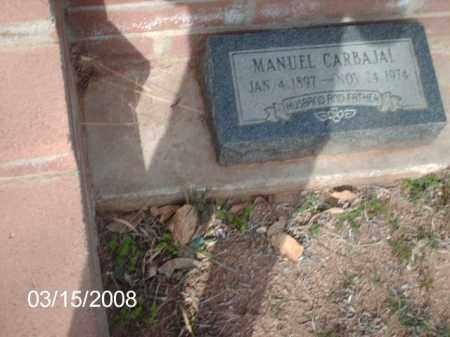 CARBAJAL, MANUEL - Gila County, Arizona | MANUEL CARBAJAL - Arizona Gravestone Photos
