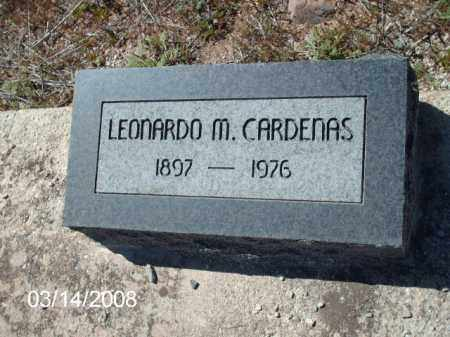 CARDENAS, LEONARDO - Gila County, Arizona | LEONARDO CARDENAS - Arizona Gravestone Photos