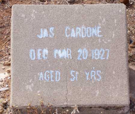 CARDONE, JAS - Gila County, Arizona | JAS CARDONE - Arizona Gravestone Photos