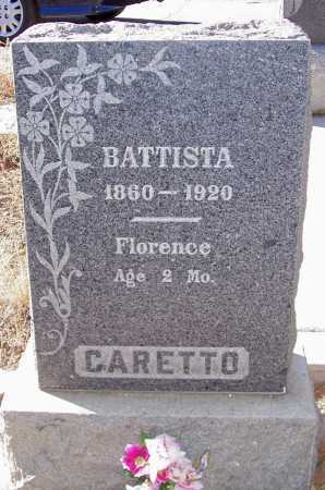 CARETTO, FLORENCE - Gila County, Arizona | FLORENCE CARETTO - Arizona Gravestone Photos