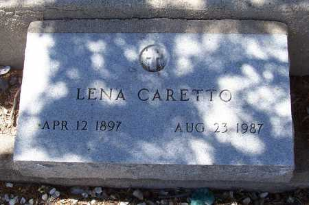 CARETTO, LENA - Gila County, Arizona | LENA CARETTO - Arizona Gravestone Photos