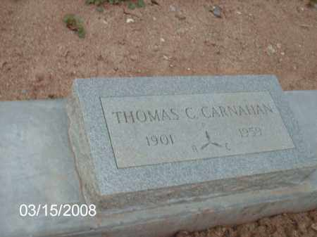 CARNAHAN, THOMAS - Gila County, Arizona | THOMAS CARNAHAN - Arizona Gravestone Photos