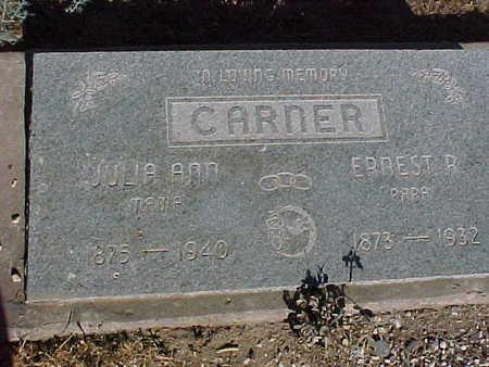 CARNER, JULA ANN - Gila County, Arizona | JULA ANN CARNER - Arizona Gravestone Photos