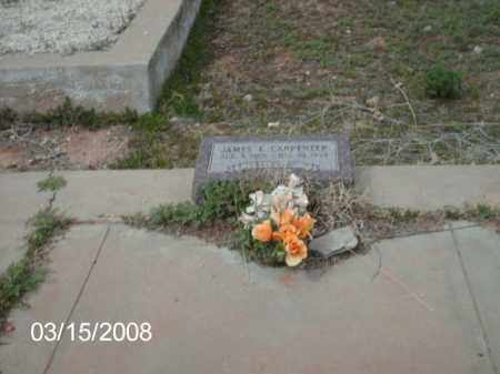CARPENTER, JAMES - Gila County, Arizona | JAMES CARPENTER - Arizona Gravestone Photos