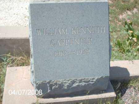 CARPENTER, WILLIAM KENNETH - Gila County, Arizona | WILLIAM KENNETH CARPENTER - Arizona Gravestone Photos