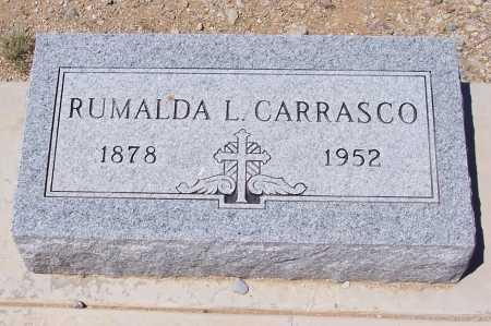 CARRASCO, RUMALDA L. - Gila County, Arizona   RUMALDA L. CARRASCO - Arizona Gravestone Photos