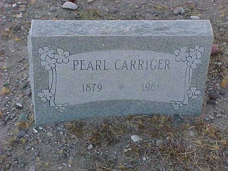 CARRIGER, PEARL - Gila County, Arizona | PEARL CARRIGER - Arizona Gravestone Photos