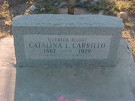 CARRILLO, CATALINA  L. - Gila County, Arizona   CATALINA  L. CARRILLO - Arizona Gravestone Photos