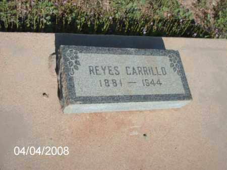 CARRILLO, REYES - Gila County, Arizona   REYES CARRILLO - Arizona Gravestone Photos