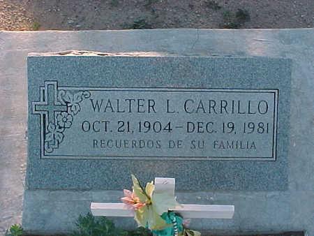 CARRILLO, WALTER  L. - Gila County, Arizona | WALTER  L. CARRILLO - Arizona Gravestone Photos