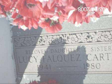 CART, LUCY FALQUEZ - Gila County, Arizona | LUCY FALQUEZ CART - Arizona Gravestone Photos
