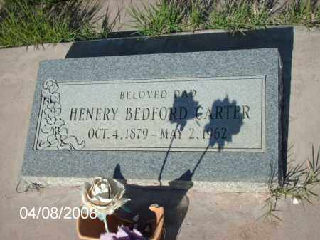 CARTER, HENERY BEDFORD - Gila County, Arizona | HENERY BEDFORD CARTER - Arizona Gravestone Photos