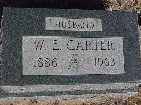 CARTER, W.  E. - Gila County, Arizona   W.  E. CARTER - Arizona Gravestone Photos