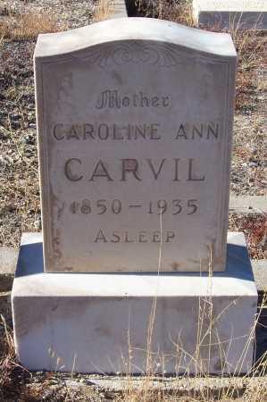 MCKENZIE CARVIL, CAROLINE ANN - Gila County, Arizona   CAROLINE ANN MCKENZIE CARVIL - Arizona Gravestone Photos