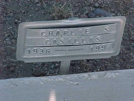 CASILLAS, CHARLIE S. - Gila County, Arizona | CHARLIE S. CASILLAS - Arizona Gravestone Photos