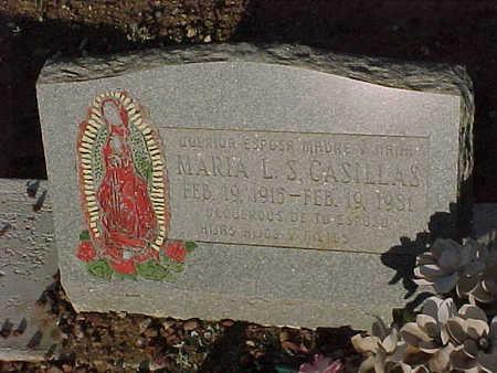 CASILLAS, MARIA  L. S. - Gila County, Arizona   MARIA  L. S. CASILLAS - Arizona Gravestone Photos