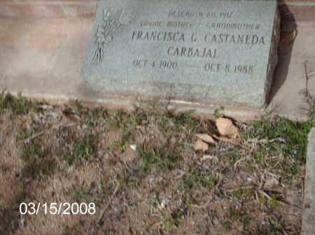 CASTANEDA, FRANCISCA - Gila County, Arizona | FRANCISCA CASTANEDA - Arizona Gravestone Photos